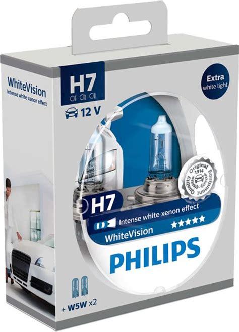 žiarovka 12v h7 55w px26d w5w whitevision ultra set2ks