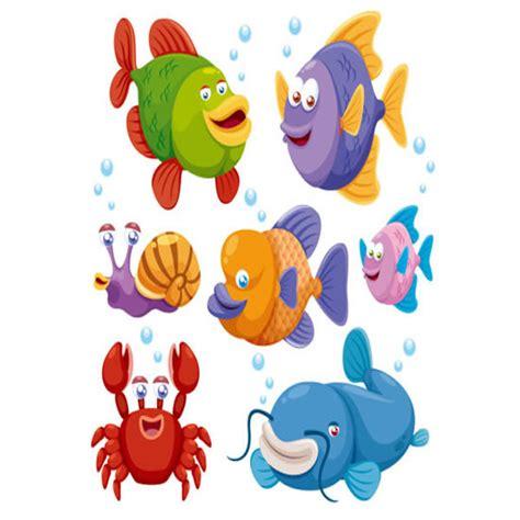 Topi Anak Fish kartun ikan