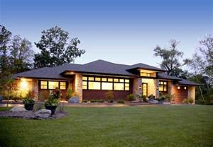 Prairie Style Homes Prairie Style Home Contemporary Exterior Detroit By Vanbrouck Associates Inc