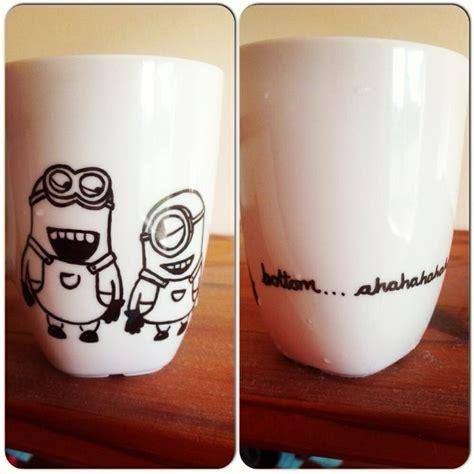 coffee mug ideas pictures to pin on pinterest pinsdaddy sharpie minion mug cool ideas pinterest