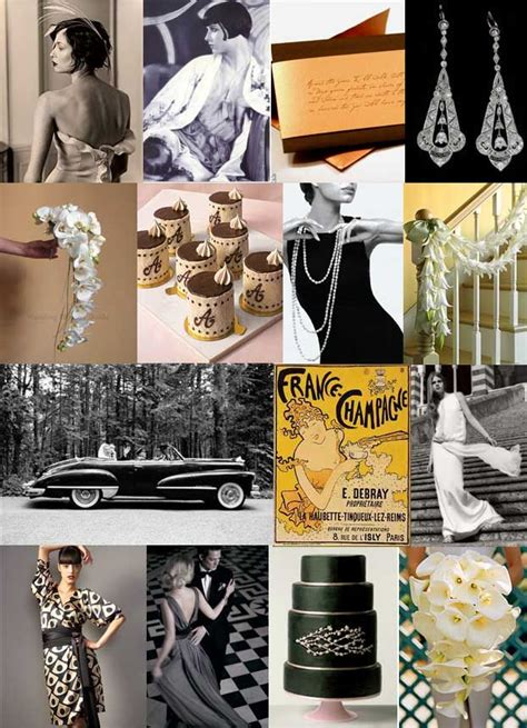 tone and theme of the great gatsby great gatsby wedding ideas greatgatsby artdeco