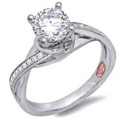 jewelry wedding rings modern platinum bridal rings demarco bridal jewelry