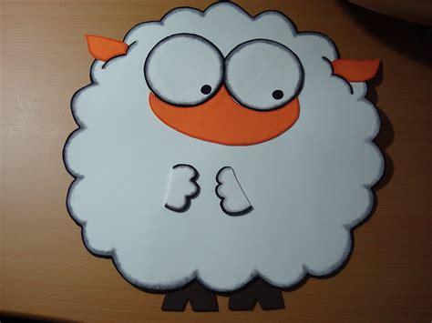 como hacer una oveja en foami imagui como hacer una oveja de goma eva imagui