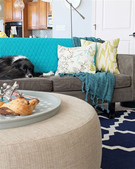 How To Use A Throw On A Sofa how and where to use throw blankets teal and lime by jackie hernandez