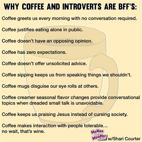 Introvert Meme - why coffee and introverts are bff s hahas for hoohas