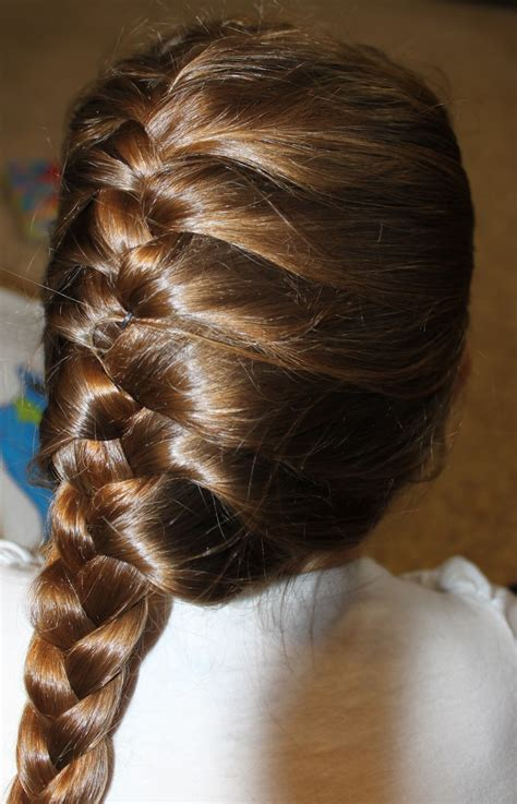 french braids and weave hairstyles side french braid