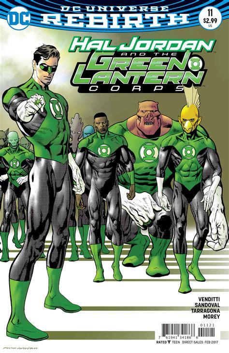 Dc Comics Hal And The Green Lantern Corps 8 January 2017 exclusive preview hal and the green lantern corps 11 freaksugar