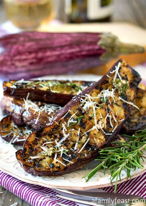 grilled graffiti eggplant  family feast