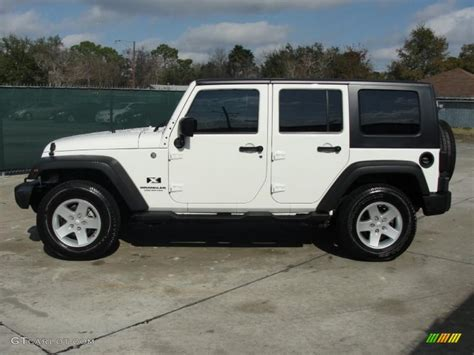 2014 Jeep Wrangler Color Options 2007 Jeep Wrangler Unlimited X