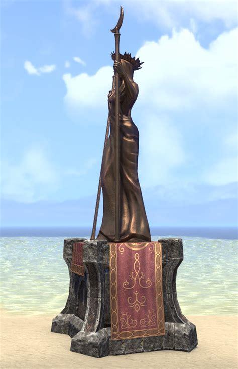 eso fashion spirit warden azura statue elder scrolls