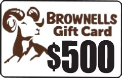 Brownells Gift Card - nra whittington center sweepstakes prizes