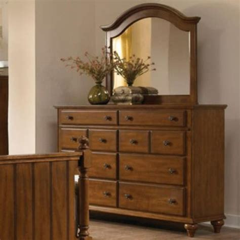 broyhill bedroom dressers broyhill hayden place dresser with arched mirror in