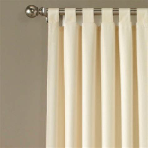 tab top drapes curtains crosby tab top wide curtain pair 160 x 84 touch of class