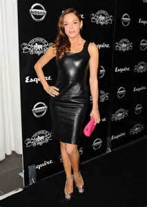 Holly Valance Sister Celebrities In Leather 04 30 12