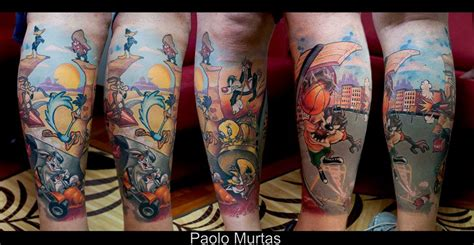 looney tunes tattoos looney tunes inspiration