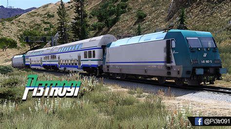 carrozza treno carrozza trenitalia gta5 mods