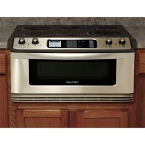 shop sharp 174 30 inch 1 0 cu ft microwave drawer 174 with