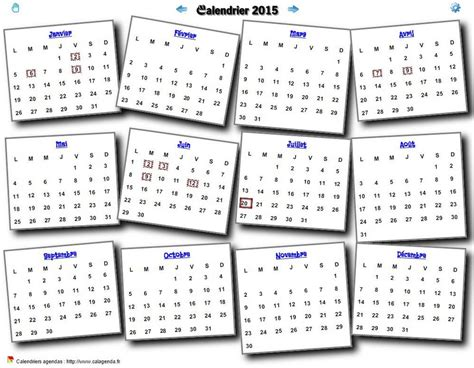 Calendrier Annuel Annuel Sur Topsy One