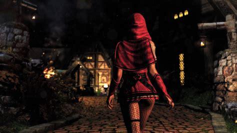 gwelda armor mod skyrim gwelda little red riding hood outfit unpb 7b bombshell