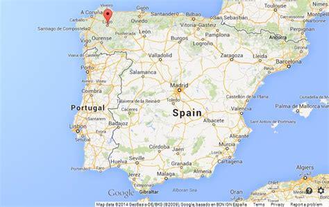 lugo  map  spain
