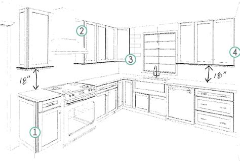 Kitchen Cabinet Layouts Design Layout For Kitchen Cabinets Afreakatheart