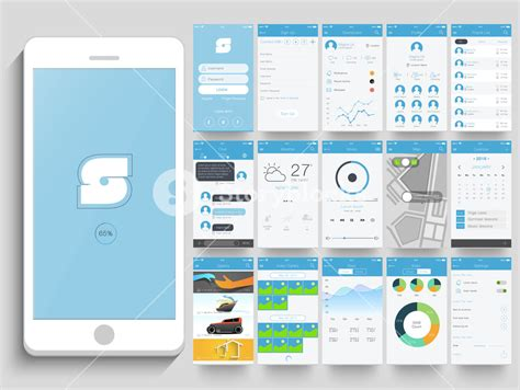 mobile app layout design tool creative mobile application user interface layout with
