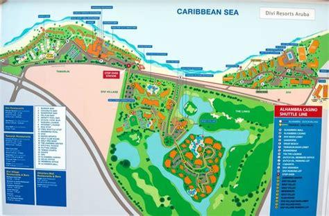divi tamarijn aruba all inclusive resorts map of the resorts picture of tamarijn aruba all