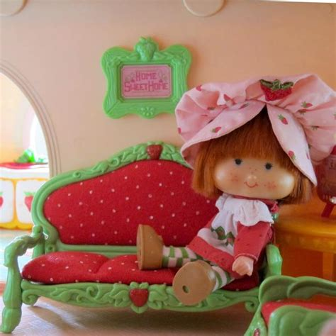 home sweet home picture frame for strawberry shortcake