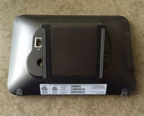 technicolor icontrol tca203com home automation touchscreen