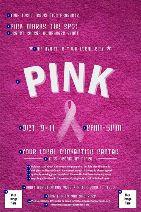 breast cancer pink ribbon poster ticketprinting com