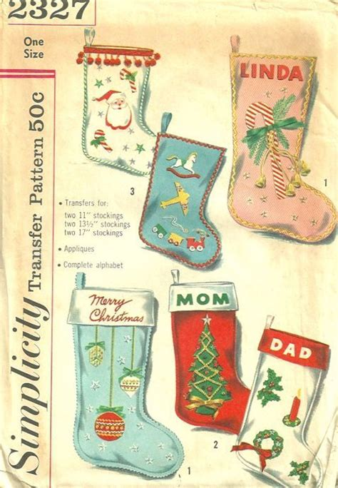 patterns for vintage christmas stockings vintage christmas stocking pattern atomic christmas