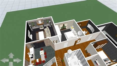 home design 3d ipad upstairs the dream home in 3d home design ipad 3 youtube