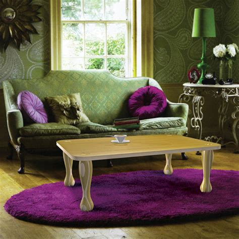green and purple living room smallrooms