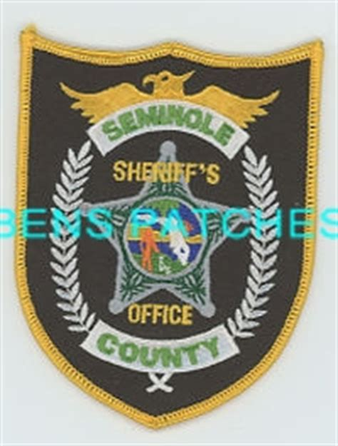 Seminole County Sheriff Search Ben S Patch Collection