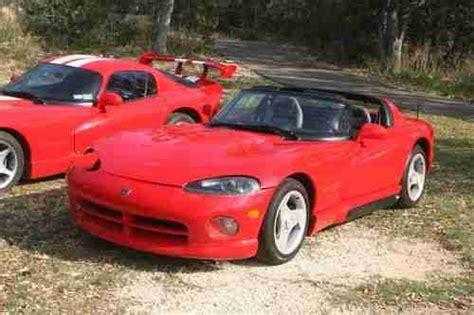 buy used 1993 dodge viper rt 10 convertible original ac low miles ez fix low in