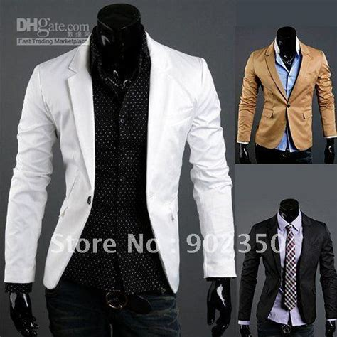 Top Blazer M Fit L Babyterry Quality 2017 casual slim fit blazer jacket suits for top