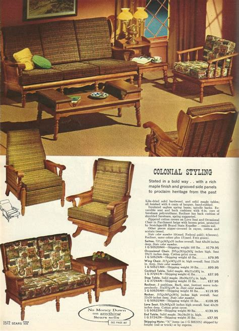 Sears Living Room Sets 17 Best Images About Early American On Early American Retro Renovation And Living Rooms