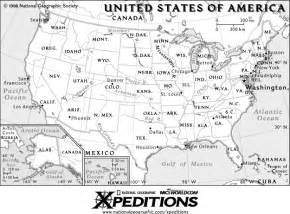us map to scale outline maps