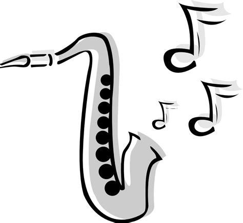 saxophone tattoo clipart best