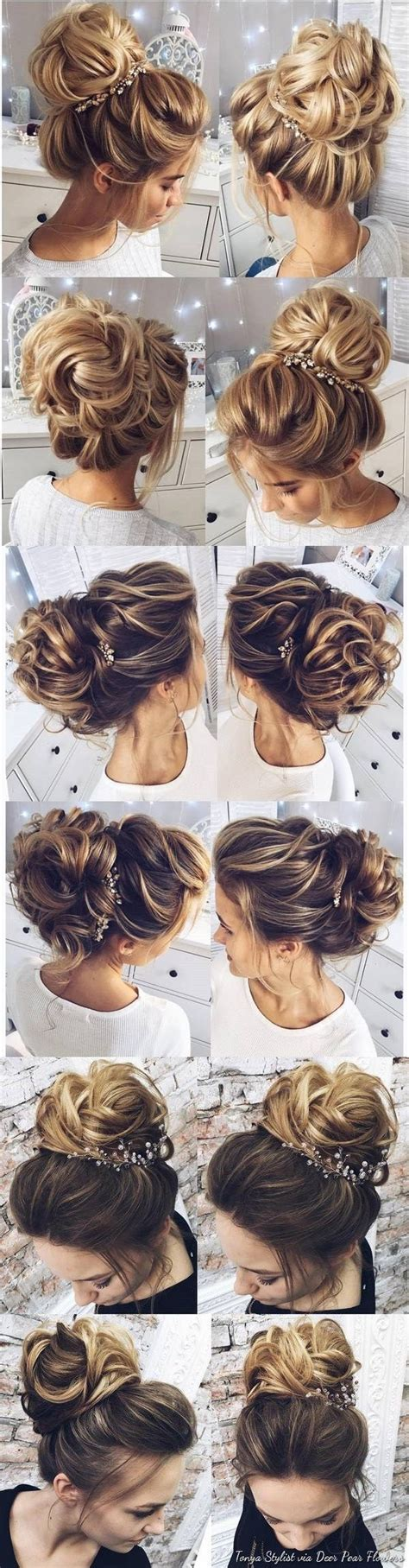 Wedding Day Hairstyles Hair by 25 Best Ideas About Wedding Hairstyles On