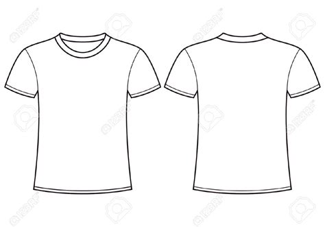 design a shirt front and back t shirt front and back template shirt clipart template
