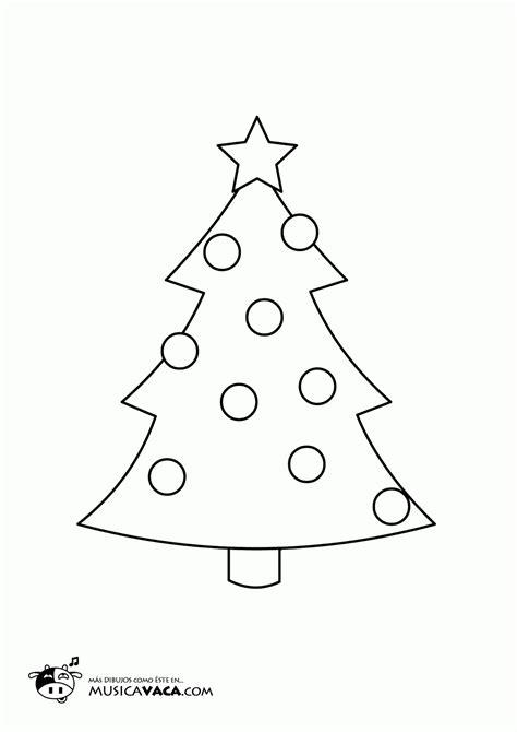 arbol de navidad para calcar m 250 sica vaca canciones infantiles dibujos de navidad para colorear