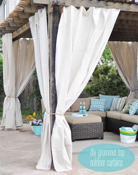 outdoor draperies curtains best 25 pergola curtains ideas on pinterest pergola