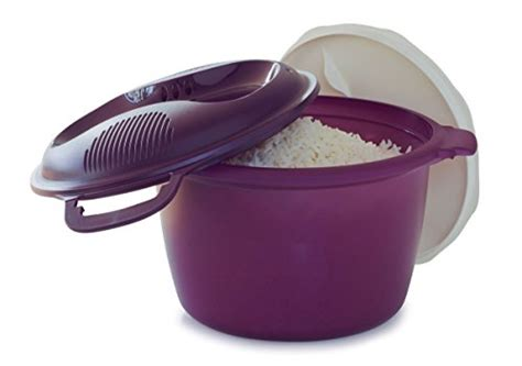 Rice Smart Purple Tupperware tupperware 67zu tupperware microwave rice cooker purple large 3l or 12 cup for sale cheap