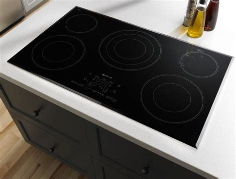 jenn air cooktop jec4536bs jenn air 36 quot electric cooktop w touch controls