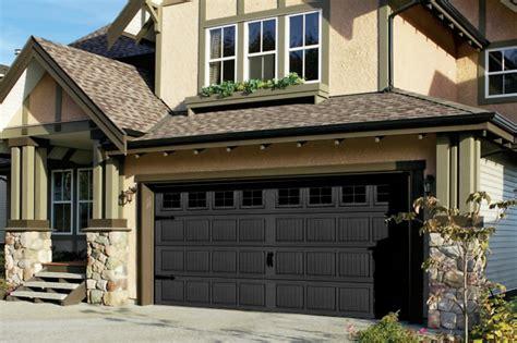 garage doors black garage doors now available in black
