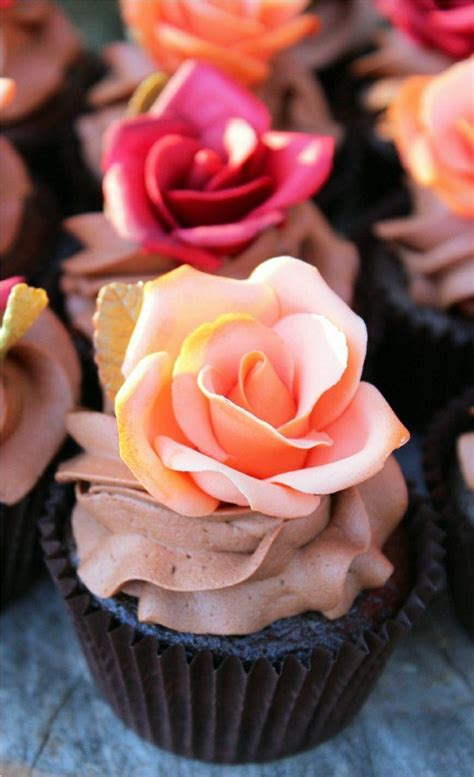 rose themed cupcakes wedding cupcakes c u p c a k e s 2064819 weddbook