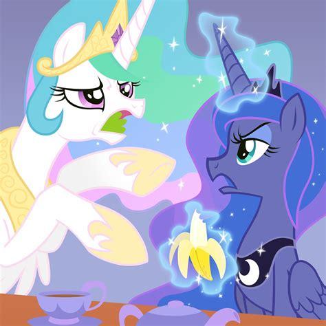 Pineaple Gamis Pony image princess celestia and princess by artist equestria prevails jpg my pony