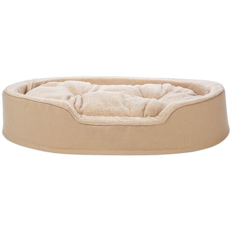cuddler bed harmony cuddler orthopedic bed in khaki petco