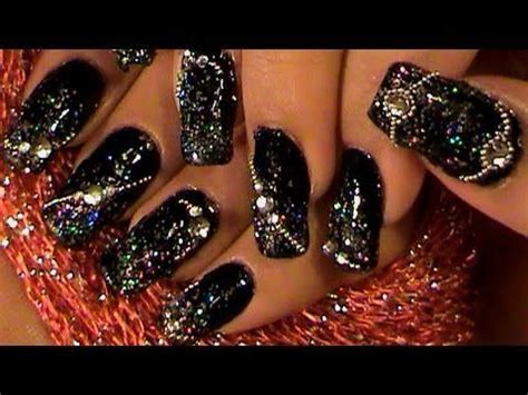 nail art rhinestones tutorial 14 best images about new year on pinterest group games